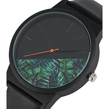 للرجال كوارتز ساعة المعصم ساعة رياضية صيني مقاوم للماء جلد فرقة سحر إبداعي كاجوال مشاهدة فريدة من نوعها الإبداعية أنيقة موضة أسود أزرق