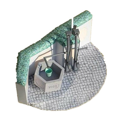 Puzzle 3D Modelul de hârtie Μοντέλα και κιτ δόμησης Lucru Manual Din Hârtie Jucarii Clădire celebru Arhitectură 3D Reparații Simulare