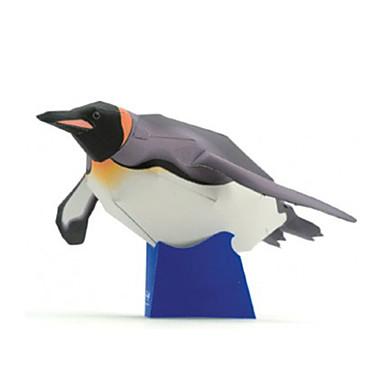 3D - Puzzle Papiermodel Papiermodelle Modellbausätze Quadratisch Pinguin Heimwerken Hartkartonpapier Klassisch Kinder Jungen Unisex