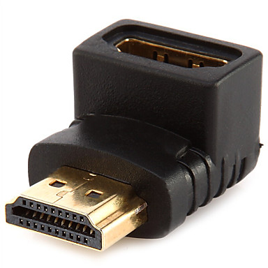 HDMI 2.0 Adapter, HDMI 2.0 to HDMI 2.0 Adapter Male - Female Vergoldetes Kupfer