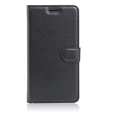 Fall für Meizu Pro 6 Pro 5 Abdeckung Kartenhalter Brieftasche mit Standpfeil Ganzkörper-Gehäuse Normallack hartes PU-Leder für Meizu mx6