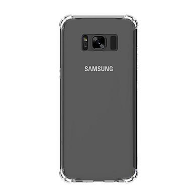 غطاء من أجل Samsung Galaxy S8 Plus S8 ضد الصدمات غطاء خلفي لون الصلبة ناعم TPU إلى S8 Plus S8