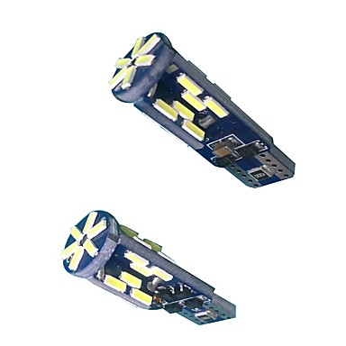 Can-bus fără eroare 10w T10 led bec (2pcs)