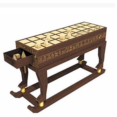 Puzzle 3D Joc de sah Modelul de hârtie Lucru Manual Din Hârtie Μοντέλα και κιτ δόμησης Castel Articole de mobilier Reparații Clasic Unisex