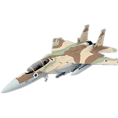 3D-puzzels Bouwplaat Papierkunst Modelbouwsets Vliegtuig Vechter Eagle 3D Simulatie DHZ Klassiek Unisex Geschenk