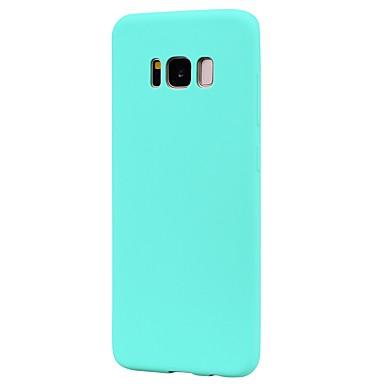 hoesje Voor Samsung Galaxy S8 Plus S8 Mat Achterkant Effen Kleur Zacht TPU voor S8 Plus S8 S7 edge S7 S6 edge S6