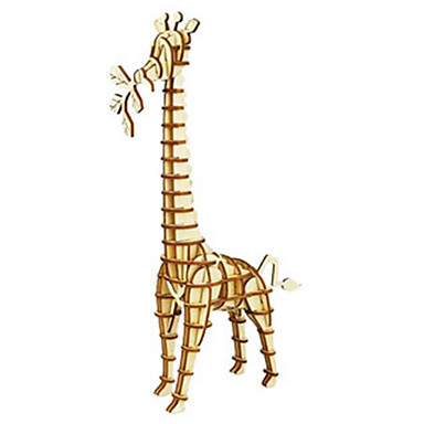 Puzzle 3D Puzzle Modelul lemnului Μοντέλα και κιτ δόμησης Jucarii Animal 3D Reparații Lemn Lemn natural Ne Specificat Bucăți