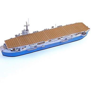 3D-puzzels Bouwplaat Modelbouwsets Vierkant Vliegdekschip DHZ Hard Kaart Paper Klassiek Vliegdekschip Jongens Unisex Geschenk