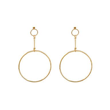 Damen Böhmische Ohrringe baumeln - Personalisiert Böhmische Erklärung Euramerican Modisch Gold Silber Kreisform Ohrringe Für