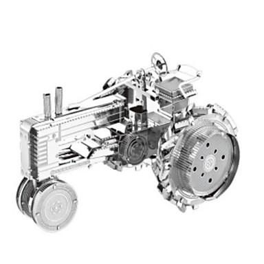 Jucării pentru mașini Puzzle 3D Puzzle Puzzle Metal Tren Camion 3D Reparații Teak Crom MetalPistol Clasic Tren Pentru copii Băieți Unisex