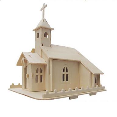 3D - Puzzle Holzpuzzle Spielzeuge Berühmte Gebäude Architektur 3D Heimwerken Naturholz keine Angaben Stücke