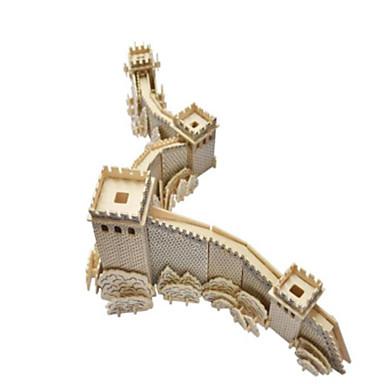 3D - Puzzle Holzpuzzle Holzmodell Modellbausätze Spielzeuge Berühmte Gebäude Architektur 3D Simulation Heimwerken Holz Naturholz keine