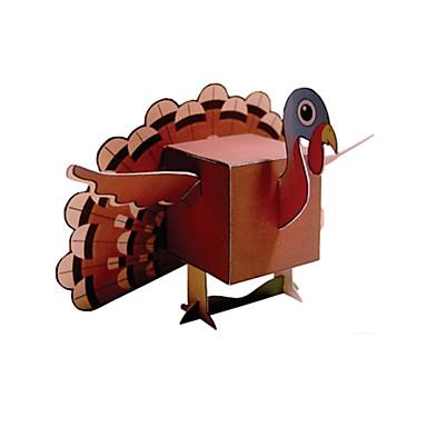 Puzzle 3D Modelul de hârtie Μοντέλα και κιτ δόμησης Lucru Manual Din Hârtie Jucarii Pui 3D Reparații Unisex Bucăți