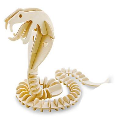Robotime قطع تركيب3D تركيب النماذج الخشبية ديناصور حشرة حيوان 3D الحيوانات اصنع بنفسك خشب كلاسيكي للأطفال للجنسين هدية
