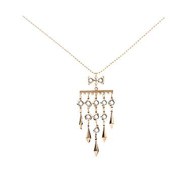 Dames Geometrische vorm Gepersonaliseerde Meetkundig Uniek ontwerp Dierenontwerp Riipus Tupsu Tag Opvallende sieraden Movie Jewelry
