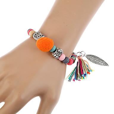 Dames Armbanden met ketting en sluiting Bedelarmbanden Wikkelarmbanden Modieus Bohemia Style Turks Hars Legering Geometrische vorm