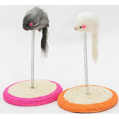 قط لعبة للقطة ألعاب الحيوانات الأليفة لعب الفأر ماوس السيزال للحيوانات الأليفة