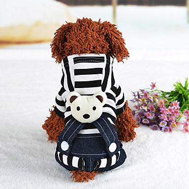 Hond harnassen Jurken Hondenkleding Casual/Dagelijks Band Zwart Rood Kostuum Voor huisdieren