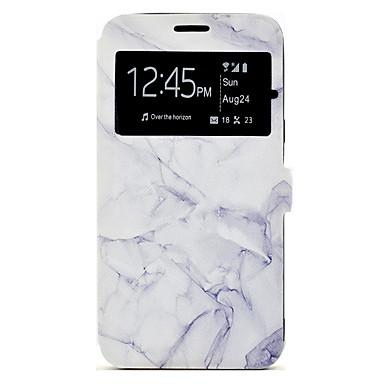 Hülle Für Samsung Galaxy A5(2017) A3(2017) Kreditkartenfächer mit Halterung Muster Ganzkörper-Gehäuse Marmor Hart PU-Leder für A3 (2017)