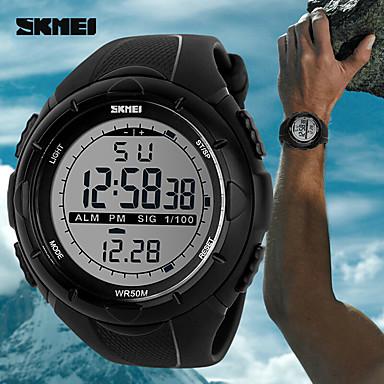 Herrn Digitaluhr Einzigartige kreative Uhr Armbanduhr Smart Watch Kleideruhr Modeuhr Sportuhr Chinesisch digital Kalender Wasserdicht