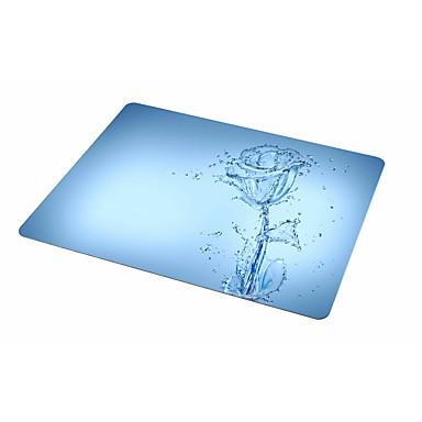 Albastru de trandafir albastru mouse pad pad de cauciuc 21,5 * 18 pad pad mouse-ului