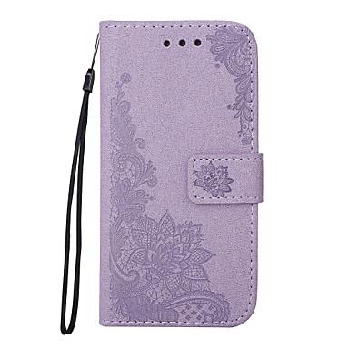 Hülle Für Samsung Galaxy J5 (2016) J3 (2016) Kreditkartenfächer Geldbeutel mit Halterung Flipbare Hülle Geprägt Muster Handyhülle für das