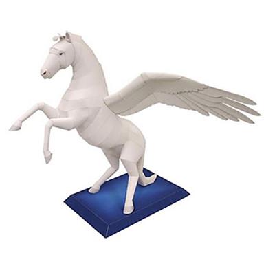 3D - Puzzle Papiermodel Modellbausätze Quadratisch Pferd Tiere Heimwerken Hartkartonpapier Klassisch Unisex Geschenk
