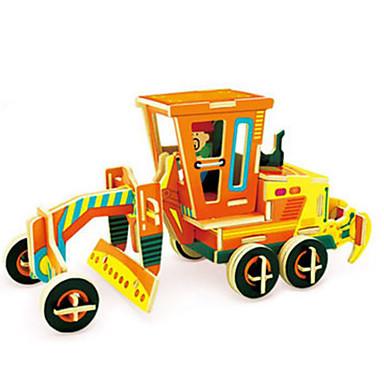 Robotime قطع تركيب3D تركيب شاحنة اصنع بنفسك خشب كلاسيكي سيارة الحفريات للأطفال للبالغين للجنسين هدية