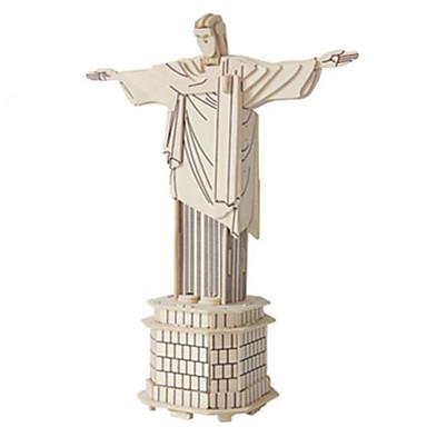 3D-puzzels Legpuzzel Hout Model Speeltjes Beroemd gebouw Architectuur Overige 3D DHZ Hout Natuurlijk Hout Niet gespecificeerd Stuks