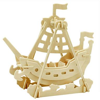 Robotime 3D-puzzels Legpuzzel Houten modellen Dinosaurus Oorlogsschip Insect 3D Dieren DHZ Hout Klassiek Kinderen Jongens Unisex Geschenk