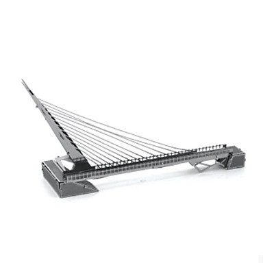 Puzzle 3D Puzzle Puzzle Metal Μοντέλα και κιτ δόμησης Tastatură 3D Reparații Teak Crom MetalPistol Unisex Cadou