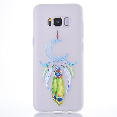 Hülle Für Samsung Galaxy S8 Plus S8 Mattiert Durchscheinend Muster Rückseitenabdeckung Traumfänger Weich TPU für S8 S8 Plus