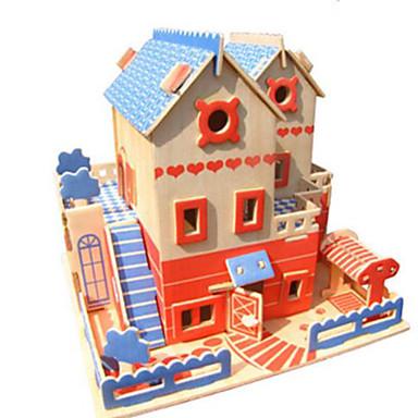 Puzzle 3D Puzzle Modele de Lemn Clădire celebru Arhitectură Other 3D Reparații Lemn Lemn natural Clasic Pentru copii Unisex Cadou