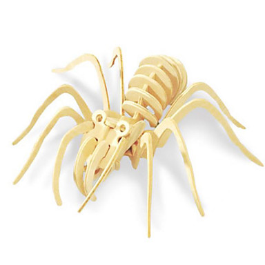 Robotime 3D-puzzels Legpuzzel Houten modellen Dinosaurus Insect Dier 3D Dieren DHZ Hout Klassiek Unisex Geschenk