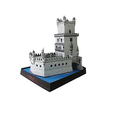 Puzzle 3D Modelul de hârtie Lucru Manual Din Hârtie Μοντέλα και κιτ δόμησης Turn Clădire celebru Arhitectură Reparații Clasic Unisex Cadou