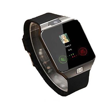 Herrn Smart Uhr digital Caucho Band Schwarz Weiß