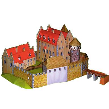 3D-puzzels Bouwplaat Papierkunst Modelbouwsets Kasteel Beroemd gebouw Architectuur DHZ Hard Kaart Paper Klassiek Jongens Unisex Geschenk