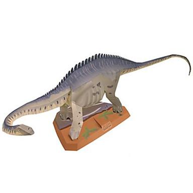 Puzzle 3D Modelul de hârtie Μοντέλα και κιτ δόμησης Jucarii Pătrat Dinosaur Reparații Hârtie Rigidă pentru Felicitări Ne Specificat Bucăți