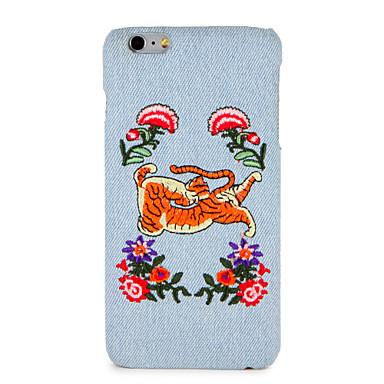 Hülle Für Apple iPhone 7 Plus iPhone 7 Muster Rückseite Blume Tier Hart PC für iPhone 7 Plus iPhone 7 iPhone 6s Plus iPhone 6s iPhone 6