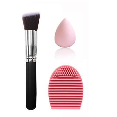Puderquasten/Kosmetikbürsten Make-up Pinsel Pinsel Taschen & Reiniger Trocken Gesicht Unisex