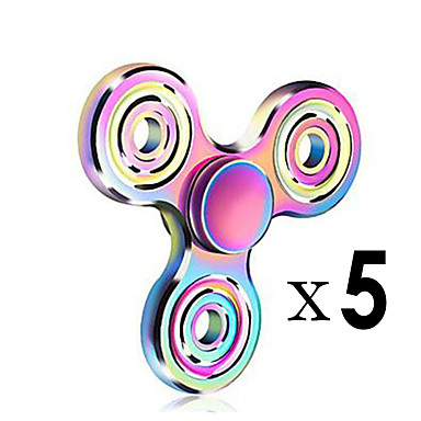 Fidget spinners Hand Spinner Draaitol Speeltjes Speeltjes Ring Spinner EDCStress en angst Relief Focus Toy Kantoor Bureau Speelgoed