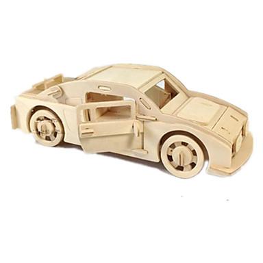 Speelgoedauto's 3D-puzzels Legpuzzel Houten modellen Vliegtuig Automatisch 3D DHZ Hout Klassiek Jongens Unisex Geschenk