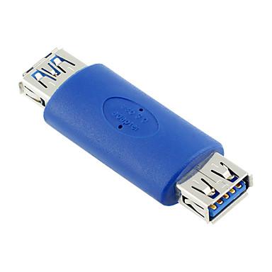 USB 3.0 Adapter, USB 3.0 to USB 3.0 Adapter Vrouwelijk - Vrouwelijk