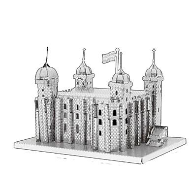 3D-puzzels Legpuzzel Metalen puzzels Modelbouwsets Toren Architectuur 3D Inrichting artikelen DHZ Kromi Metaal Klassiek Kinderen
