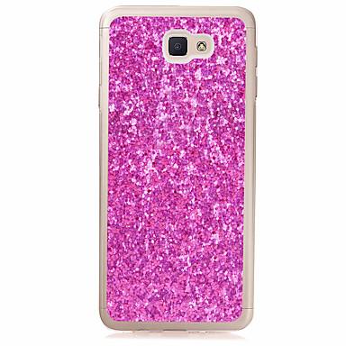 hoesje Voor Samsung Galaxy J7 Prime J5 Prime Doorzichtig Achterkant Glitterglans Zacht TPU voor J7 Prime J5 Prime J2 Prime