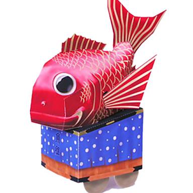 Spielzeug-Autos 3D - Puzzle Papiermodel Papiermodelle Spielzeuge Fische 3D Heimwerken Einrichtungsartikel Unisex Stücke