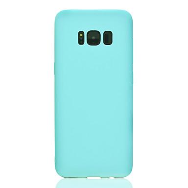 Hülle Für Samsung Galaxy S8 Plus S8 Mattiert Rückseitenabdeckung Volltonfarbe Weich TPU für S8 S8 Plus S7 edge S7 S6 edge S6