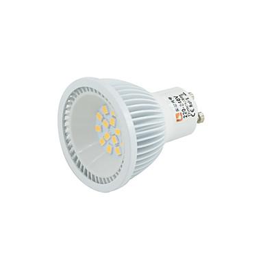 6W 0-380lm LED-spotlampen MR16 15 LED-kralen SMD 2835 Dimbaar Warm wit Koel wit Natuurlijk wit 110-130V 220-240V