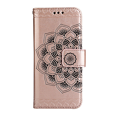 Maska Pentru Samsung Galaxy J7 Prime J5 Prime J5 (2017) J3 (2016) Portofel Titluar Card Cu Stand Întoarce Corp Plin Floare Greu PU Piele
