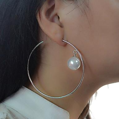 Damen Tropfen-Ohrringe Kreolen Personalisiert Luxus Kreisförmiges Einzigartiges Design Anhänger Stil Klassisch Retro Böhmische